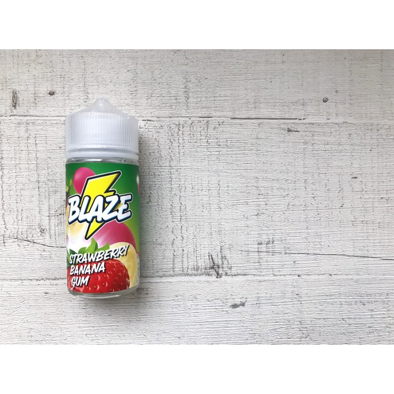 BLAZE Strawberry Banana Gum 100мл