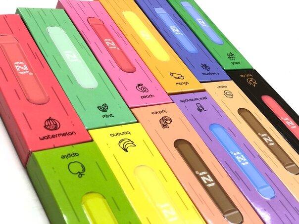 izi электронные сигареты 550 затяжек купить